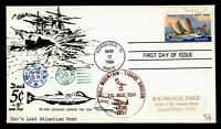 DR WHO 1984 FDC HAWAII ANIV DOCS LOCAL POST UNDERSEA POST  F