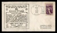 DR WHO 1938 USS GUAM NAVAL SHIP HANKOW CHINA USS PANAY CACHE