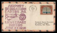 DR WHO 1931 EASTON PA AIRPORT DEDICATION AIR MAIL C212089