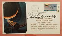 DR WHO 1977 SIGNED VOYAGE 1 SPACESHIP LAUNCH CAPE CANAVERAL