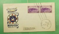 DR WHO 1937 PUERTO RICO FDC TERRITORIAL SERIES CACHET PAIR