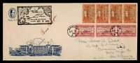 DR WHO 1935 PHILIPPINES FIRST FLIGHT PAA MANILA TO SAN FRANC