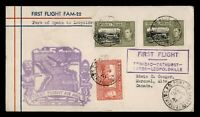 DR WHO 1941 TRINIDAD FIRST FLIGHT TO LEOPOLDVILLE BELGIUM CO