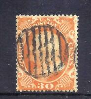 US STAMPS   38    USED   30 CENT FRANKLIN ISSUE    CV $450