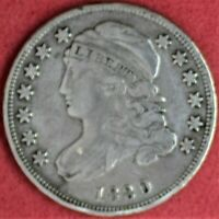 1830 CAPPED BUST DIME CH VF