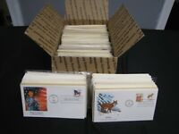HUGE LOT OVER 500 FDC FIRST DAY COVERS VARIOUS CACHETS  1940