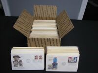 FASCINATING LOT OVER 500 FDC FIRST DAY COVERS VARIETY  1940