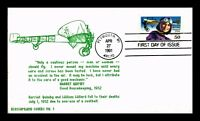 US COVER HARRIET QUIMBY PIONEER PILOT 50C AIR MAIL FDC BLOSS