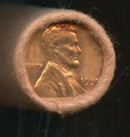 1955 P LINCOLN CENT  OBW ORIGINAL BANK WRAP UNCIRCULATED ROL