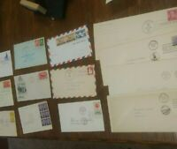 APC Z141 USA FIRST DAY COVERS FDC MOST 1950S