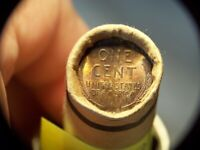 1909VDB WHEAT 1909VDB WHEAT CENT MIXED OLD ROLL PENNIES FROM