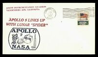 DR WHO 1969 LOMPOC CA SPACE TRACKING STA APOLLO 9 LINK UP  G