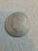 1889 MORGAN SILVER DOLLAR F / VF - SEE PICTURE 398A