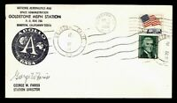 DR WHO 1968 BARSTOW CA GOLDSTONE SPACE TRACKING STA APOLLO D