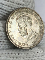 0340  1927 AUSTRALIA 1 FLORIN   GEORGE V OPENING OF  OLD  P