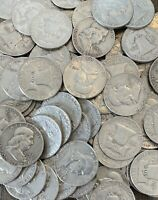 FRANKLIN HALF DOLLARS  90  SILVER CIRCULATED CHOOSE HOW MANY