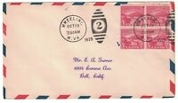 SCOTT 681 FIRST DAY COVER WHEELING WV OCT 19 1929 BLOCK OF F