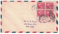 SCOTT 681 FIRST DAY COVER HOMESTEAD PA OCT 19 1929 BLOCK OF