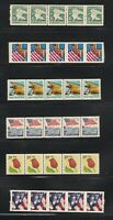 SIX DIFFERENT  PNC'S  OF  FIVE  MINT VF NH