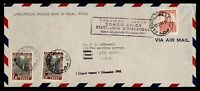 DR WHO 1941 BELGIUM CONGO FIRST FLIGHT PAA LEOPOLDVILLE TO B