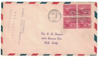 SCOTT 681 FIRST DAY COVER LOUISVILLE KY OCT 19 1929 BLOCK OF