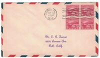 SCOTT 681 FIRST DAY COVER CAIRO ILL OCT 19 1929 BLOCK OF FOU