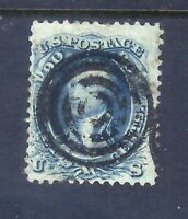 US STAMPS   72   USED   90 CENT WASHINGTON ISSUE   CV $600