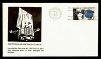 DR WHO 1975 CAPE CANAVERAL FL OSO 8 SPACE LAUNCH CACHET  G29
