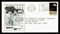 DR WHO 1969 KENNEDY SPACE CENTER FL APOLLO 11 LAUNCH CACHET