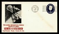 1965 CAPE CANAVERAL FL SPACE GEMINI 6 SCRUBBED FAILED TO ORB