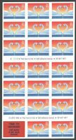 3124A 55C LOVE BIRDS SWANS BOOKLET OF STAMPS SELF ADHESIVE M