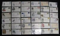 EYE CATCHING FDC LOT OVER 500 US FIRST DAY COVERS ALL UNADDR