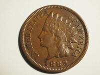 1889    INDIAN CENT    EXTRA  FINE     W 218