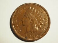 1886 TYPE 2   INDIAN CENT       FINE    W 222