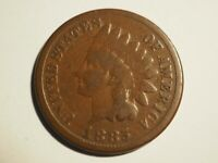1885   INDIAN  CENT     GOOD   W 230