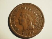 1888    INDIAN HEAD CENT  FINE    W 240