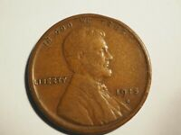 1915  S     LINCOLN  CENT        W256