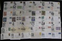 HUGE US COVER LOT OVER 500 FDC FIRST DAY OF ISSUE 1940'S TO