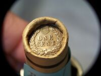 S INDIAN HEAD 1872 INDIAN HEAD MIXED OLD ROLL PENNIES FROM D
