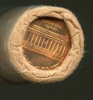 1960 P LINCOLN CENT OBW ORIGINAL BANK WRAP UNCIRCULATED ROLL