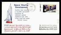 DR WHO 1974 CA SPACE SHUTTLE SPACELAB EXPERIMENT 4 BEAN CACH