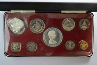 1971 COMMONWEALTH OF THE BAHAMAS SILV. PROOF SET   FRANKLIN