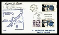 DR WHO 1975 KENNEDY SPACE CENTER FL VIKING PROJ MNGR SIGNED