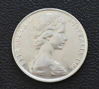 AUSTRALIAN 1966 ROUND 50 CENT 80  SILVER COIN GIFT
