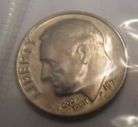 1970 D ROOSEVELT DIME  MINT CELLO