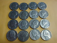 16 DIFFERENT  JEFFERSON NICKELS  1972     1979 D    WORTH A LOOK