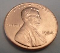 1984 P LINCOLN MEMORIAL CENT PENNY
