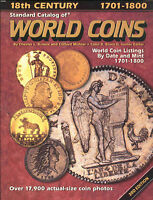 COINS   WORLD COIN STANDARD WORLD COIN CATALOG 1700 1800  PDF   IN DVD
