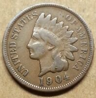 1904 INDIAN HEAD CENT   NICE DETAIL GREAT COLOR LOW PRICE