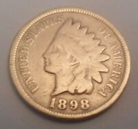 1898 INDIAN HEAD CENT / PENNY